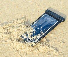 En el agua, arena o nieve, tu celular nunca estará mejor protegido que con Seawag!!