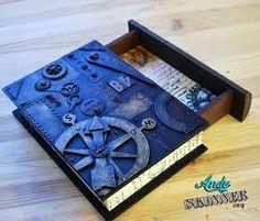 """Résultat de recherche d'images pour """"craft, cardboard """"old book"""" box"""""""