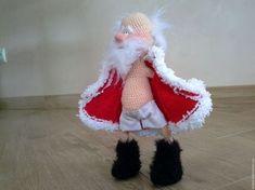 me ~ Wonderful Art Handmade Spinning toys - DİY Creative Cooking Crochet Christmas Decorations, Christmas Crochet Patterns, Holiday Crochet, Christmas Toys, Christmas Projects, Christmas Ornaments, Crochet Doll Pattern, Crochet Dolls, Diy And Crafts