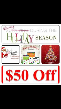 I just LOVE the holidays and LOVE helping others get started on their Thrive experience!! Today I am offering $50 OFF along with some extra goodies!!! ❤️⛄️❄️ #energy #appetitecontrol #weightmanagement #jointsupport #digestivesupport #mentalclairity #vitamins #minerals #antioxidants #probiotics #everythingyourbodyneeds #healthylifestyle  #letsdothis https://jamieromines.le-vel.com