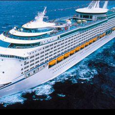 """Navigator of the Seas"" Royal Caribbean cruise ship"