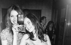 Kaya Scodelario & Hannah Murray