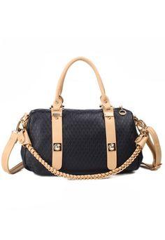 $33.99 [grzxy62000101]Retro Elegant Braid Strap Pure Color Handbag | cheershop - Bags & Purses on ArtFire