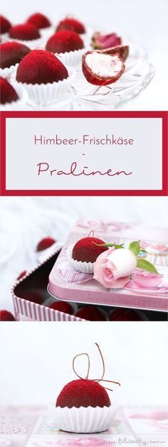 Himbeer-Pralinen: Schokoladige Liebesgeschenke mit Vitamix Personal, romantic, delicious – These homemade raspberry chocolates are not only a treat, but also a pretty Valentine's Day gift. Easy Smoothie Recipes, Snack Recipes, Dessert Recipes, Cooking Recipes, Torte Au Chocolat, Chocolates, Fudge, Naked Cakes, Diy Food Gifts