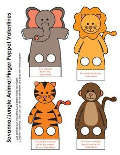 Sweet home : Paberist näpunukud Animal Activities, Craft Activities For Kids, Preschool Crafts, Toddler Activities, Felt Finger Puppets, Hand Puppets, Paper Toys, Paper Crafts, Diy For Kids