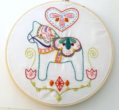 The designs work as wall art, sure, but you can also transfer the designs to clothing and accessories or use them as Christmas tree ornaments. Description from craftsy.com. I searched for this on bing.com/images