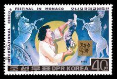 north korea stamps