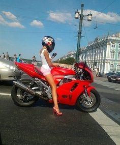 learn to ride a crotchrocket, and look hot doing so. ha so will be me when i can get my bike.