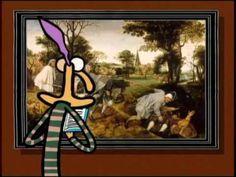 """""""La Parabole des aveugles"""" - un épisode de la série animée """"1 minute au musée""""."""