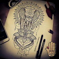 Resultado de imagen para mandala tattoo sleeve