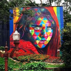 by Eduardo Kobra in Dubai, 2/16 (LP)