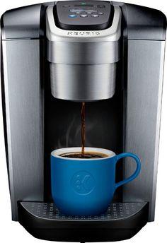 87aca5ece45 Keurig - K-Elite Single Serve K-Cup Pod Coffee Maker - Brushed Silver