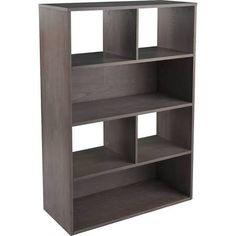 Holly & Martin HZ6404 Haza Shelf, Burnt Oak | Bookcases
