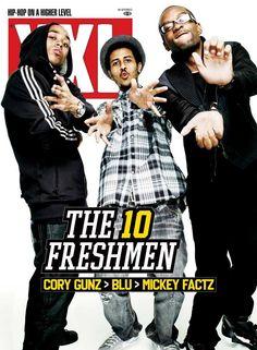 XXL Freshman Class of 2009: Cory Gunz, Blu and Mickey Factz