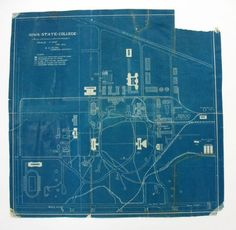 Blueprint - Also known as cyanotype