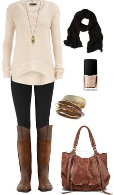 Fall outfit :) I love this one!