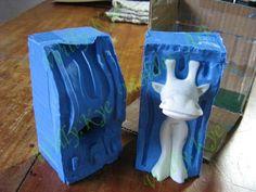 3-como fazer molde de silicone ou borracha