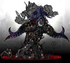 Gomorrah Summon - Pictures & Characters Art - Bayonetta