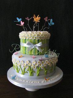 First+communion+cake+-+Cake+by+Rose+D'+Alba+cake+designer