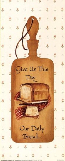 Our Daily Bread by J. B. Grant art print