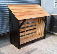 Black-Log-Store / Firewood Storage