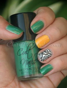 Green, yellow, zebra.- I would totes do this for games but switch out the Zebra for an O or something or just doing a pattern