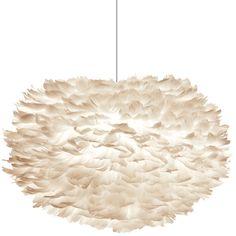 Eos pendel fra Vita, designet av Ravn Christensen. En romantisk lampe som er laget for hånd av ...
