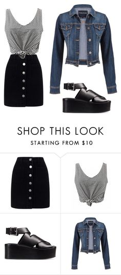 """Untitled #39"" by blackishappycolour ❤ liked on Polyvore featuring Miss Selfridge, Alexander Wang and maurices"