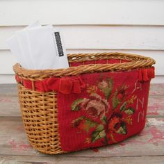 needle point basket