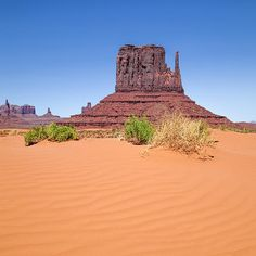 """Monument Valley - West Mitten Butte"" at FINE ART AMERICA. More: http://www.melanieviola-fotodesign.de/shops-kunst-kaufen.html"