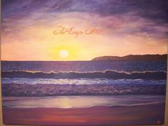 Beachcomber series /1 16x20 Original Acrylic by TheEscapeArtist, $110.00