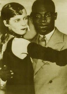 Society Lady Nancy Cunard and partner, Henry Crowder, jazz musician.