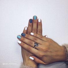 Spring Nail Designs - My Cool Nail Designs Aycrlic Nails, New Year's Nails, Love Nails, Fun Nails, Pretty Nails, Hair And Nails, Minimalist Nails, Best Acrylic Nails, Acrylic Nail Designs