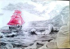 Artwork >> Gennady Kobzev >> Scarlet Sails Scarlet Sails