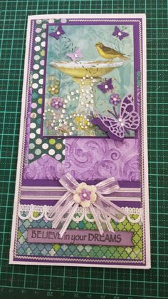 Pretty Girly Stuff: Bobunny Enchanted Garden Card