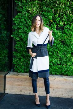 """""""Navy has become one of my palette obsessions – replacing black as a chic alternative that goes with everything from brights and metallics, to classic neutrals."""" - Louise Roe Fall fashion advice for 2015 
