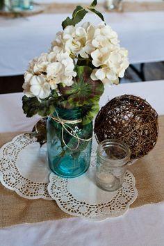 rustic reception details :  wedding decorations details diy reception rustic Reception1