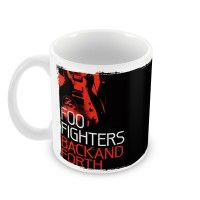 Caneca Foo Fighters Back and forth