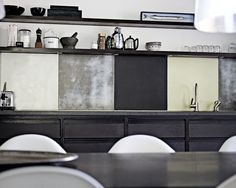Colorblock in the Kitchen: Backsplashes from Copenhagen