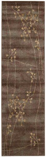 Nourison Zanibar Multicolor Floral Vine 2.3-Feet by 8-Feet Polyacrylic Runner Rug by Nourison. $122.45. 100% Polyacrylic. Machine woven in China. Rug pad recommended. Dry clean recommended. Power loomed in China; 50% polypropylene, 50% acrylic. Densely woven, strikingly luxurious pile; traditional style. In this distinctive collection, premium quality Opulon yarns are used to create a densely woven and strikingly luxurious pile. The fashion appeal of the color palett...