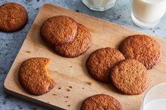 Rose Levy Beranbaum's Molasses Sugar Butter Cookies Recipe on Sugar Cookie Recipe No Butter, Butter Pecan Cookies, Molasses Cookies, Sesame Cookies, Crackle Cookies, Sweet Peanuts, Baking Basics, Buttery Biscuits, Easy Cookie Recipes
