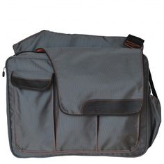Mens Messenger II Bag - Grey