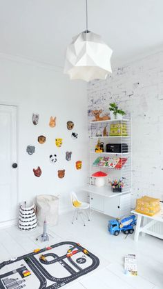 Bea's house is full of creative storage solutions for herself and for her three year old son. Live Loud Girl: Interior styling, lifestyle and so much Kids Bedroom, Bedroom Decor, Diy Kids Furniture, Deco Kids, Kid Desk, Kids Room Design, Kid Spaces, Boy Room, Room Kids