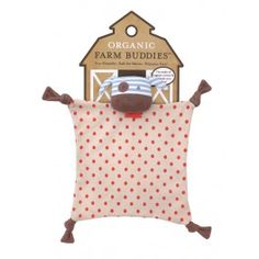 Apple Park Organic Farm Buddies - Boxer the Dog Blankie, Blanket Baby Toy for Newborns, Infants, Toddlers - Hypoallergenic, Organic Cotton Newborn Toys, Baby Toys, Eco Baby, Baby Comforter, Organic Farming, Boxer Dogs, Baby Play, How To Dye Fabric, Toddler Toys