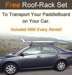 Paddle Board Newport Beach Free Racks With Every Rental - http://paddleboardnewportbeach.com/