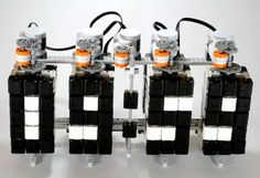 So Cool!  Hans Andersson's   Clever Time Twister LEGO Mindstorms Digital Clock