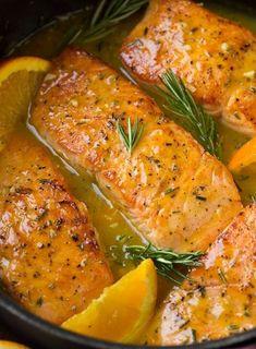 Tavada portakallı somon fileto tarifi – Tavuk tarifleri – The Most Practical and Easy Recipes Orange Salmon Recipes, Baked Salmon Recipes, Fish Recipes, Seafood Recipes, New Recipes, Dinner Recipes, Cooking Recipes, Healthy Recipes, Quick Recipes
