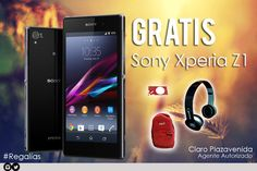 Llévate un Sony Xperia Z1 con un plan de 1000min+300msjs+3MBPS por tan solo ¢36,450°° #ClaroPlazavenida  ........................................................................................................ Dale me gusta y comparte con tus amigos. #Regalías