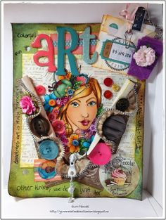Gunns Kreative Rom Art Journals, Lunch Box, Challenges, Blog, Creative, Art Diary, Bento Box, Blogging