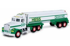 1990 Hess Toy Tanker  Track Trailer MINT IN BOX